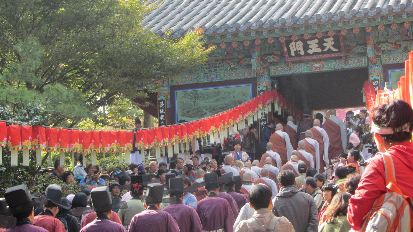 Der Beomeosa ist einer der aktivsten buddhistischen Tempel in ganz Korea.