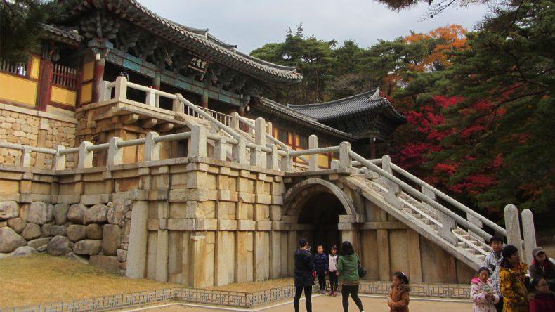 Der mächtige Bulguksa-Tempel ist ein Highlight jedes Gyeongju-Besuchers.