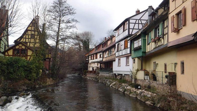 Der kleine Ort Kaysersberg