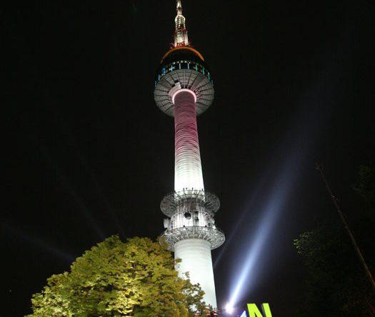 Der Namsan Seoul Tower ist der Fernsehturm in Südkoreas Hauptstadt und gilt als Wahrzeichen der Stadt. //Copyright © Korea Tourism Organization