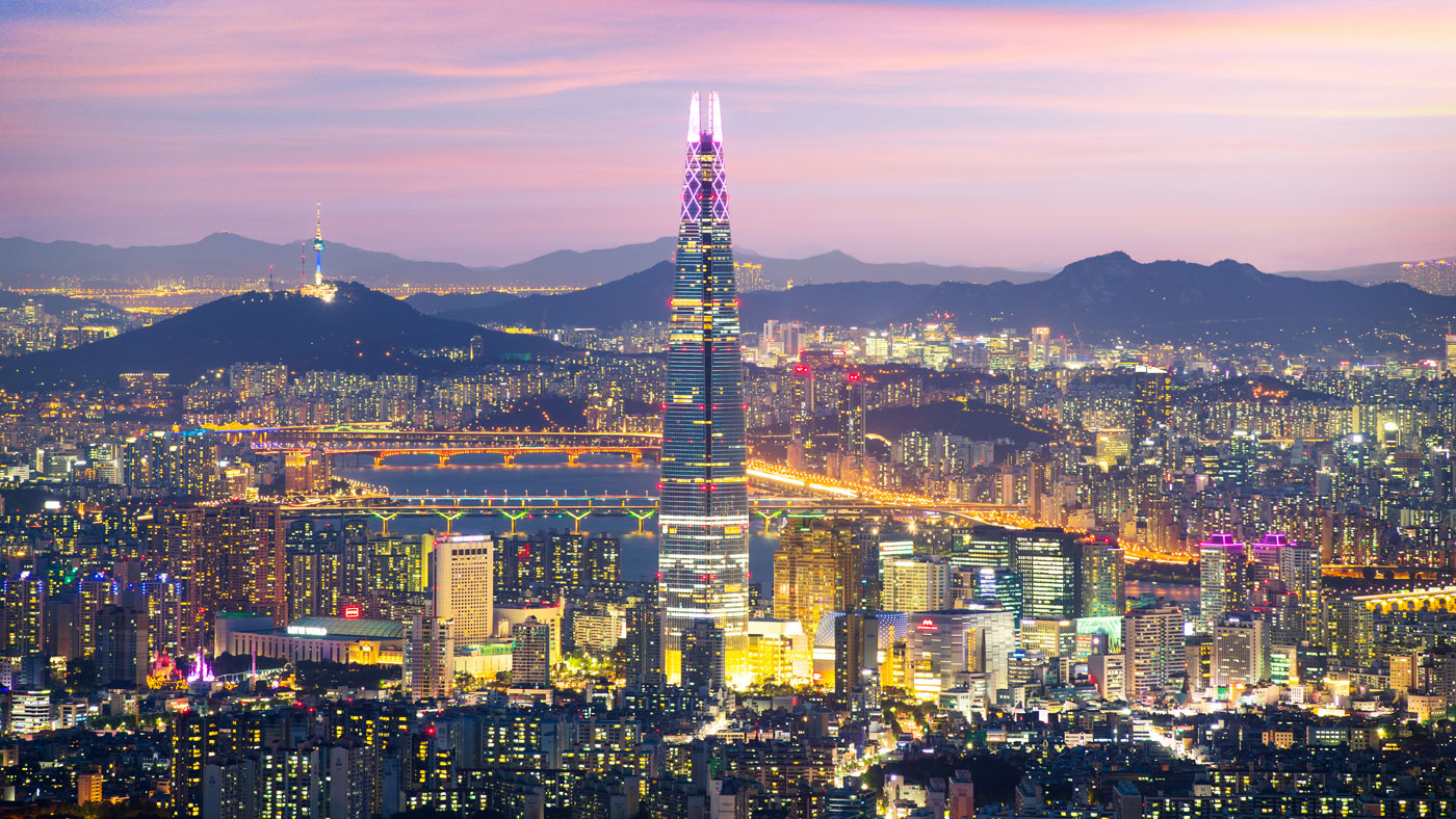 Seoul bei Nacht // Copyright © Korea Tourism Organization