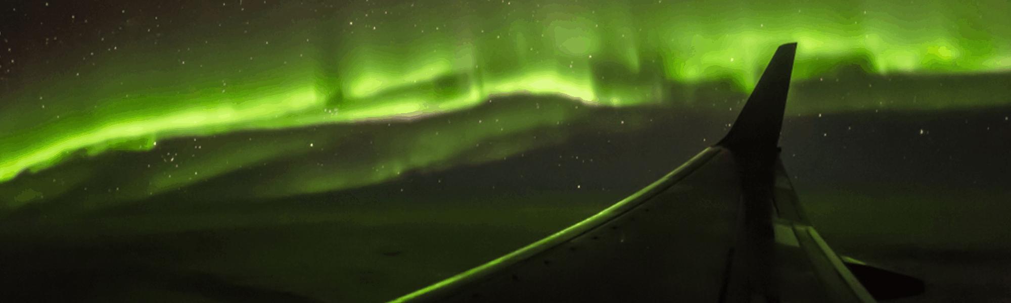 Mein erster Polarlichtflug mit TUI fly – Flugzeugspotter Dirk Oehlschläger berichtet