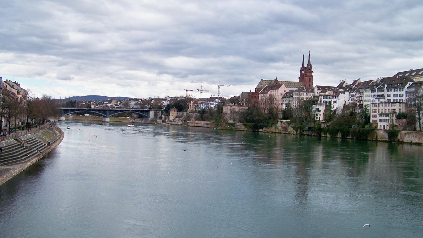 Aussicht auf Basel
