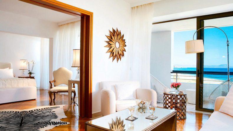 Luxus pur: Die Famous Class Palace Luxury Suite mit Blick auf's Meer