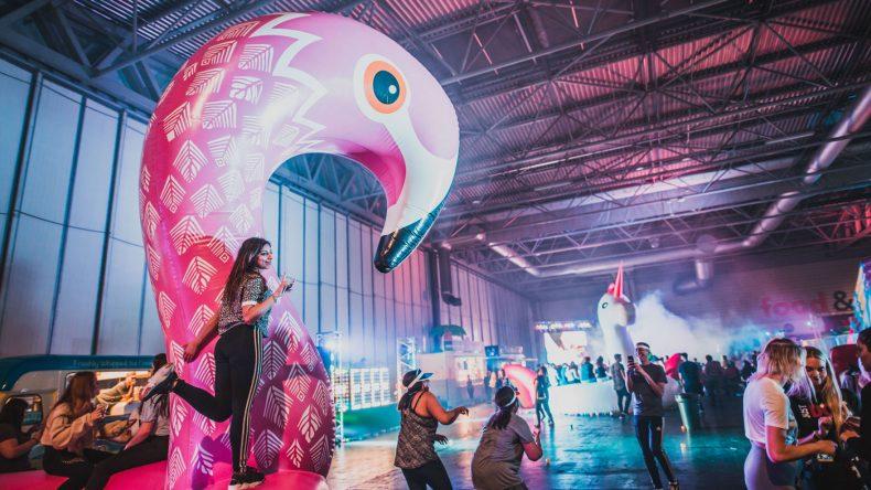 Mein Highlight: Das Flamingo-Einhorn-Bällebad