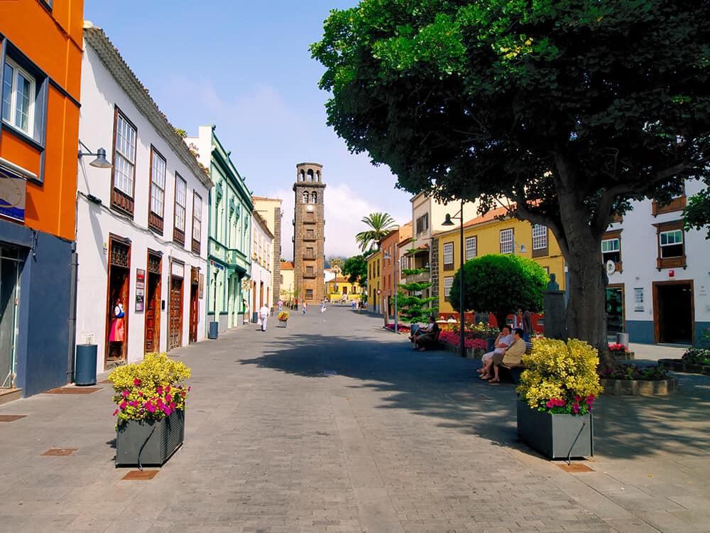 San Cristóbal de La Laguna war die erste administrative Hauptstadt Teneriffas und beherbergt bis heute die bedeutendsten Baudenkmäler der Insel