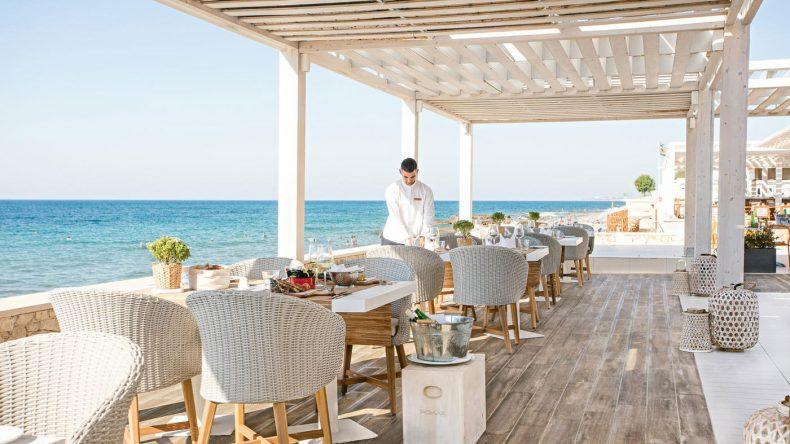 Die Taverna ist eins der 7 Restaurants im Grecotel LUX.ME White Palace. Hier erwartet euch regionale griechische Küche