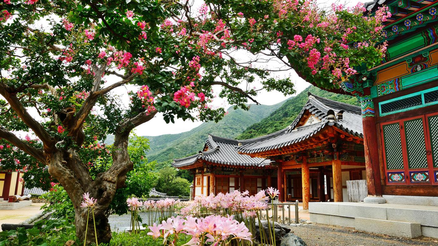 Südkorea ist bekannt für seine hochmodernen Städte, aber auch seine grünen Landschaften und traditionellen Wohnhäuser (Hanok). // Copyright © Korea Tourism Organization