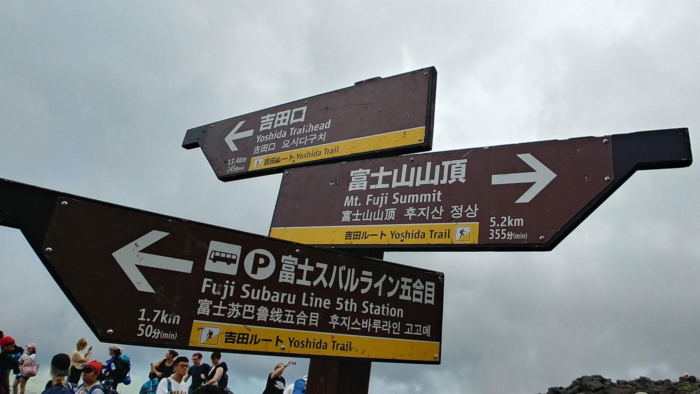 Fujijoshida Wanderung