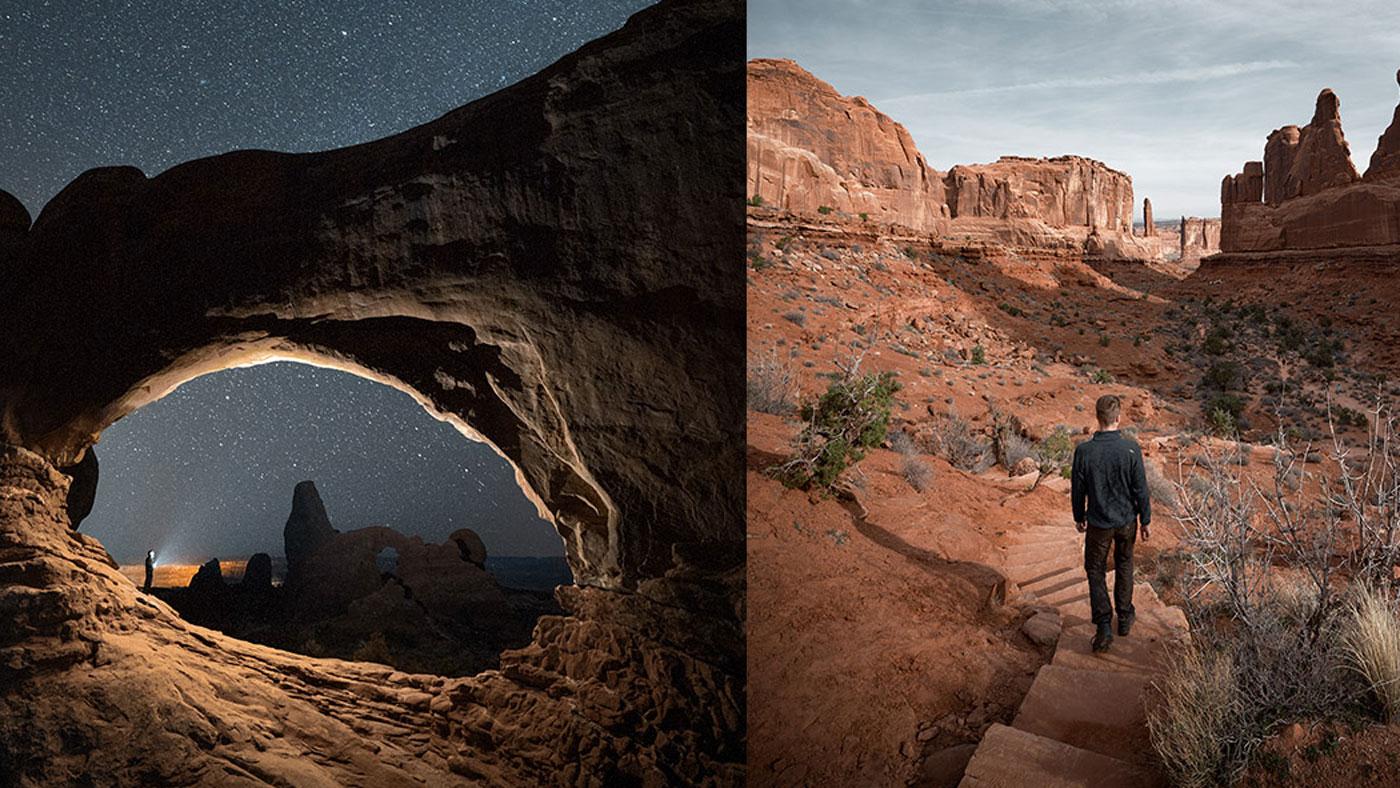 Der Arches-Nationalpark liegt nördlich von Moab gehört zu den Mighty Five von Utah