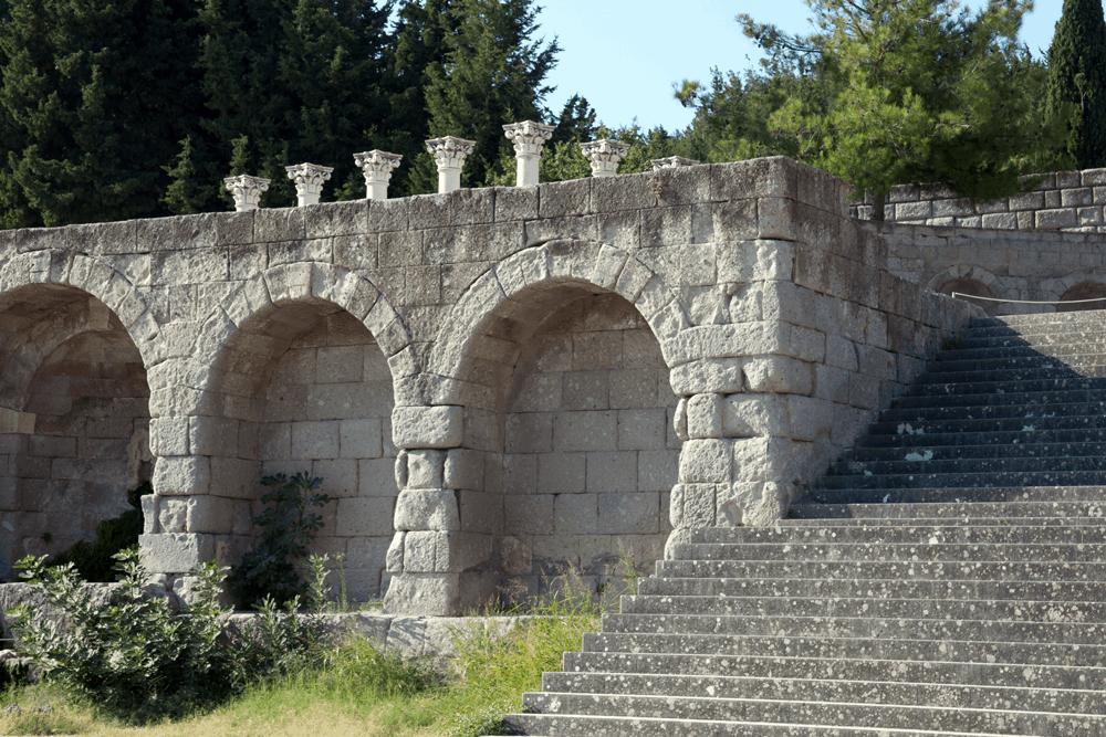 Das Asklepieion ist heute die bedeutendste archäologische Fundstätte der Insel Kos
