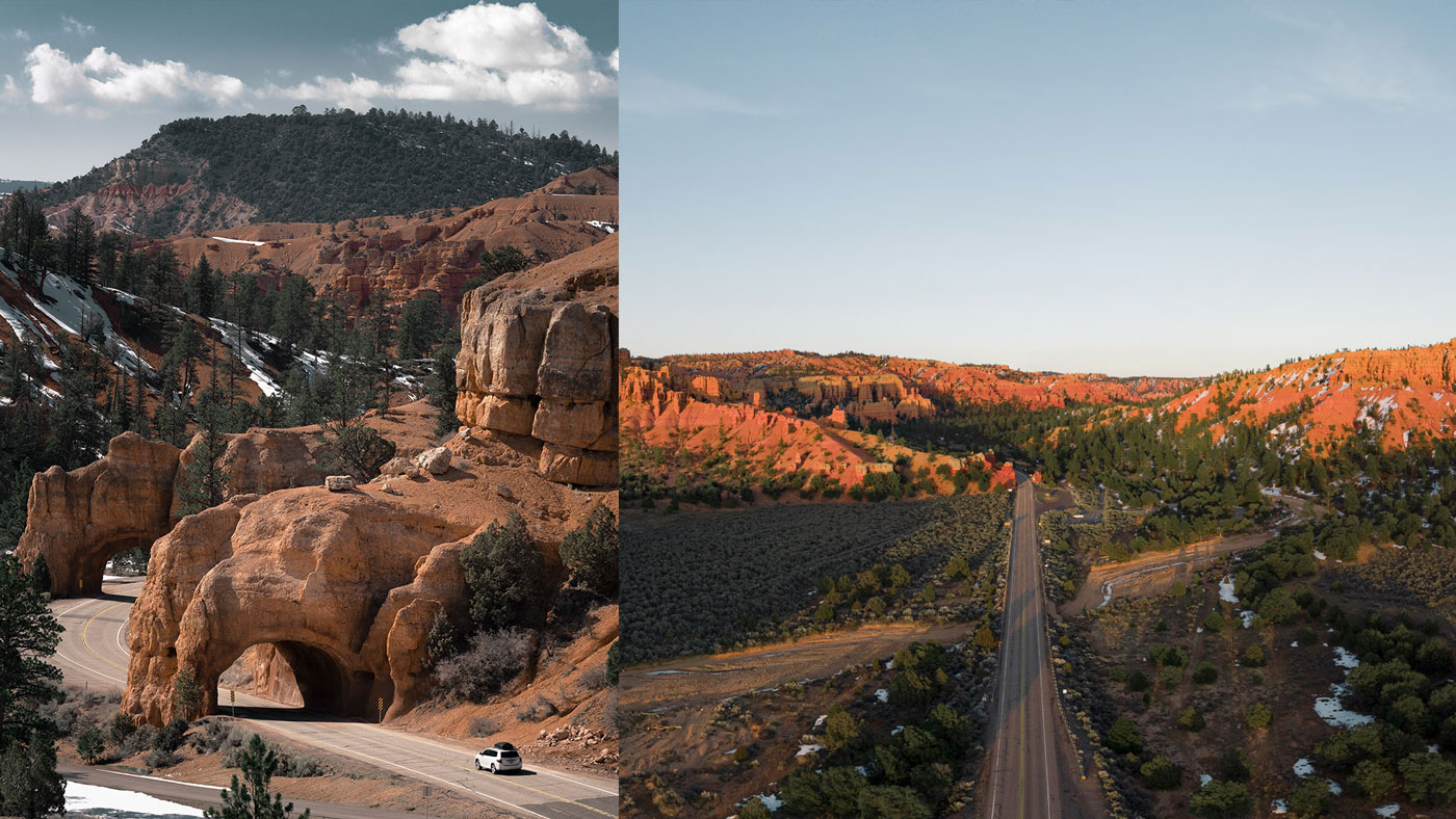 Der Red Canyon liegt im Garfield County.