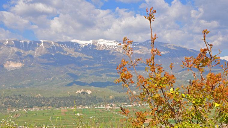 Bergriesen in Albanien