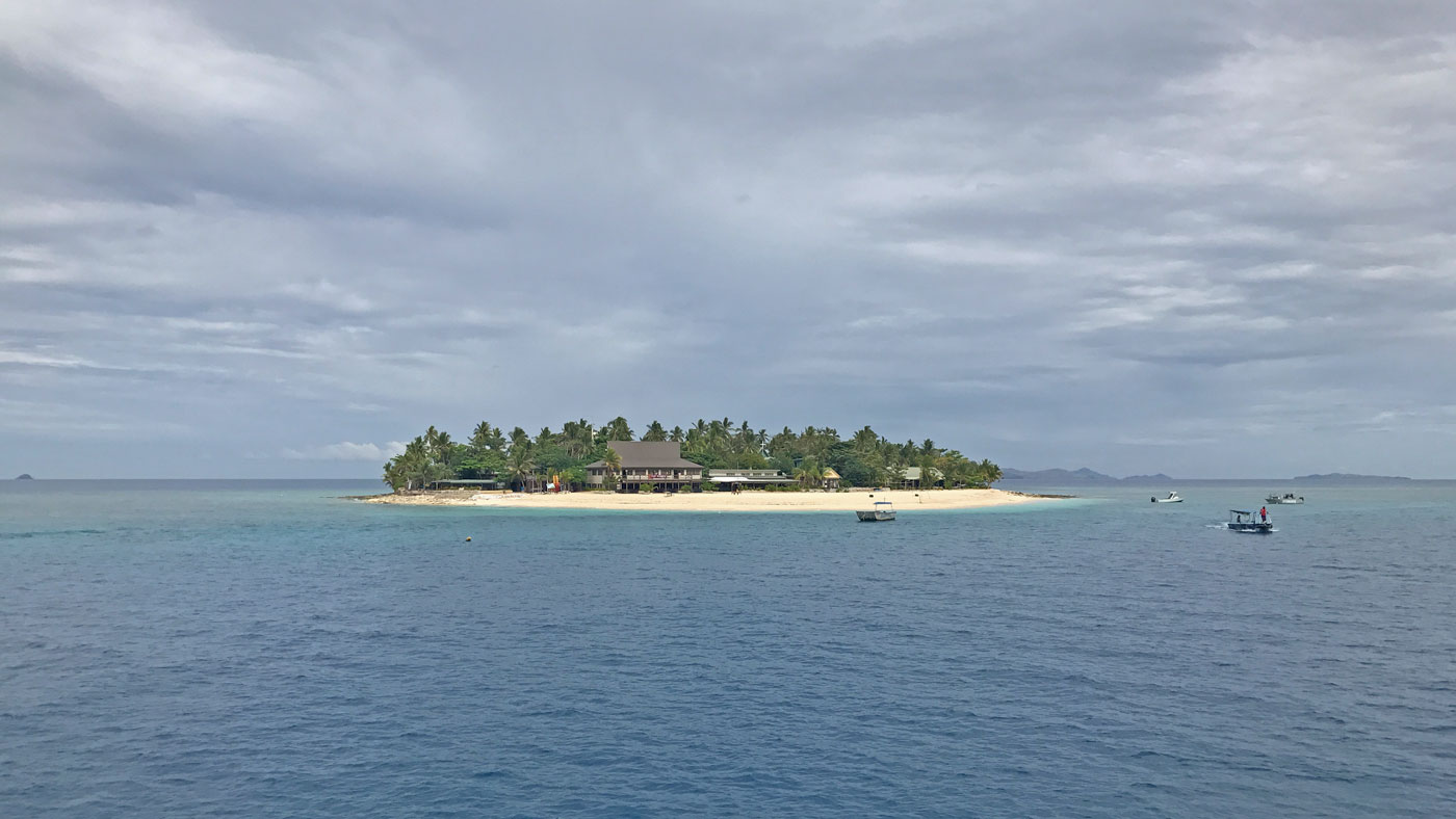 Willkommen auf Beachcomber Island