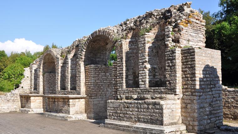 Ausgrabungsstätte in Burint