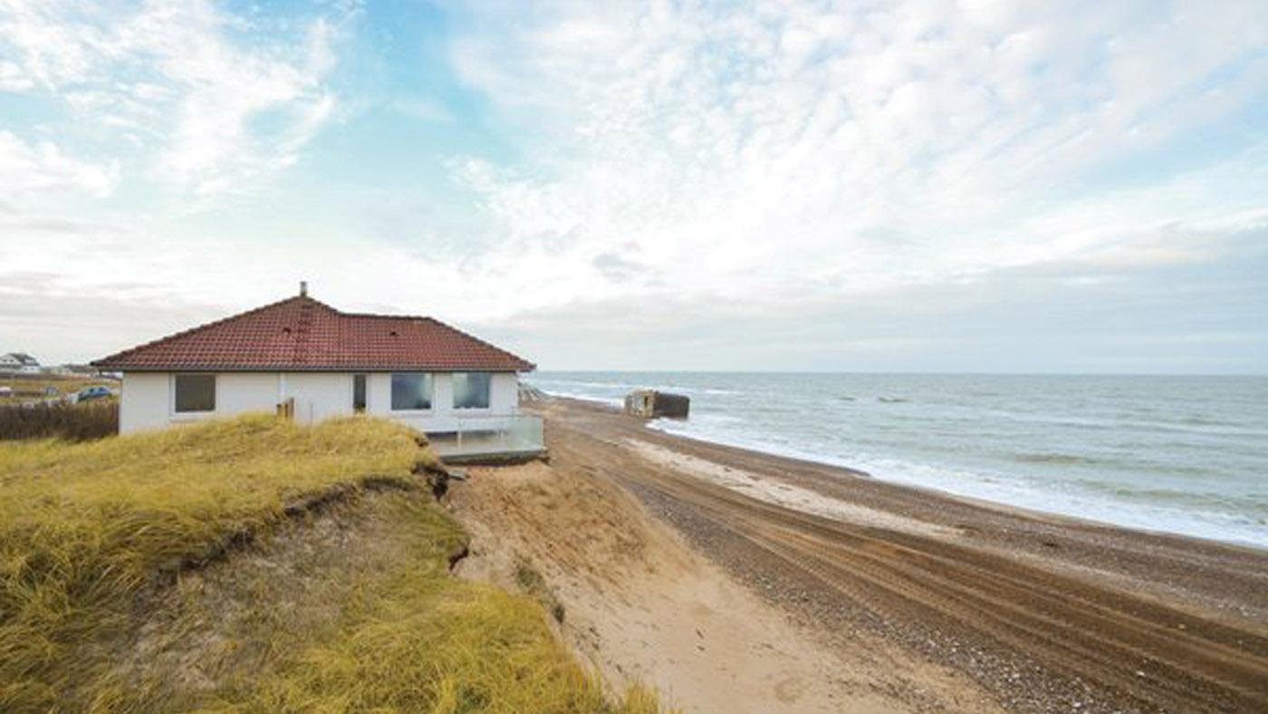 Ferienhaus am Strand in Dänemark