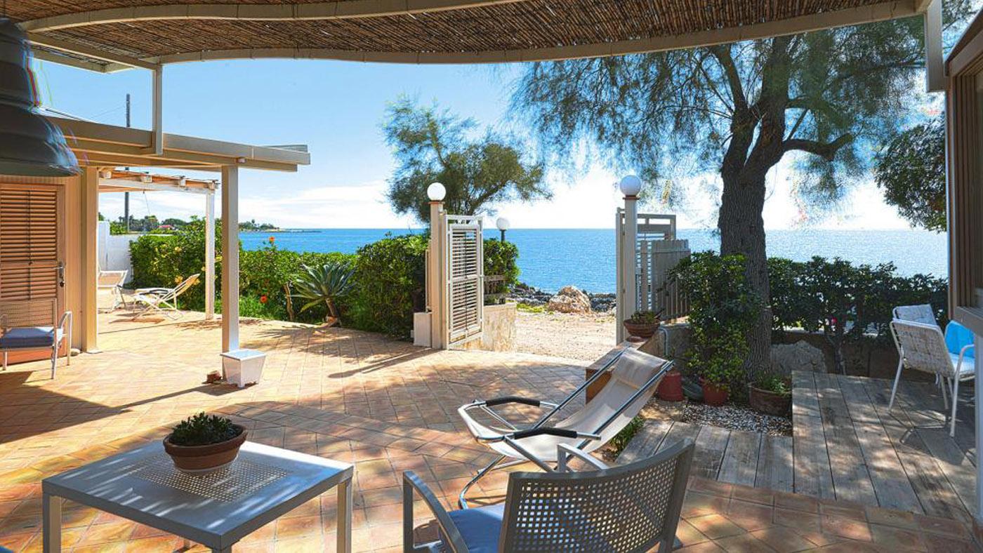 Ferienhaus am Strand auf Sizilien