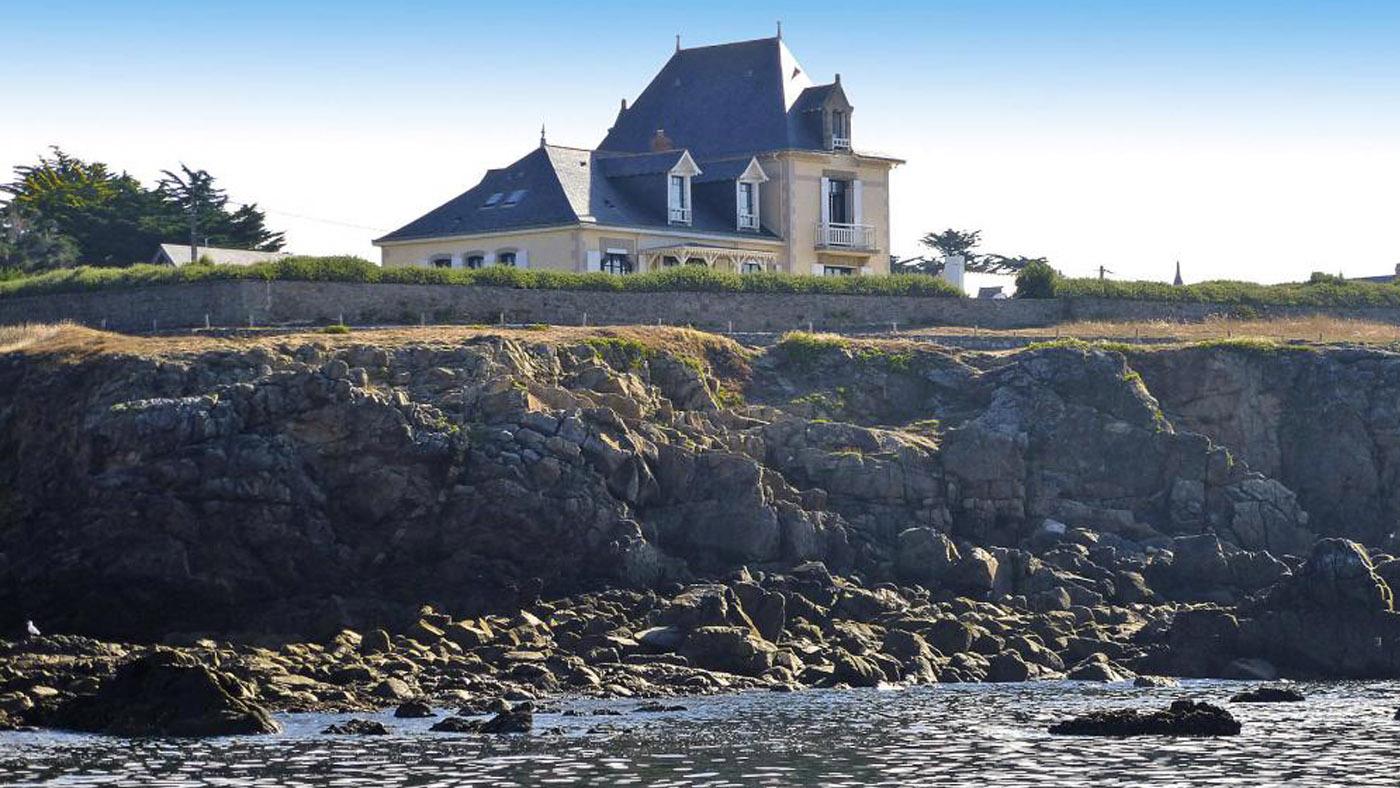 Ferienhaus am Strand in Frankreich