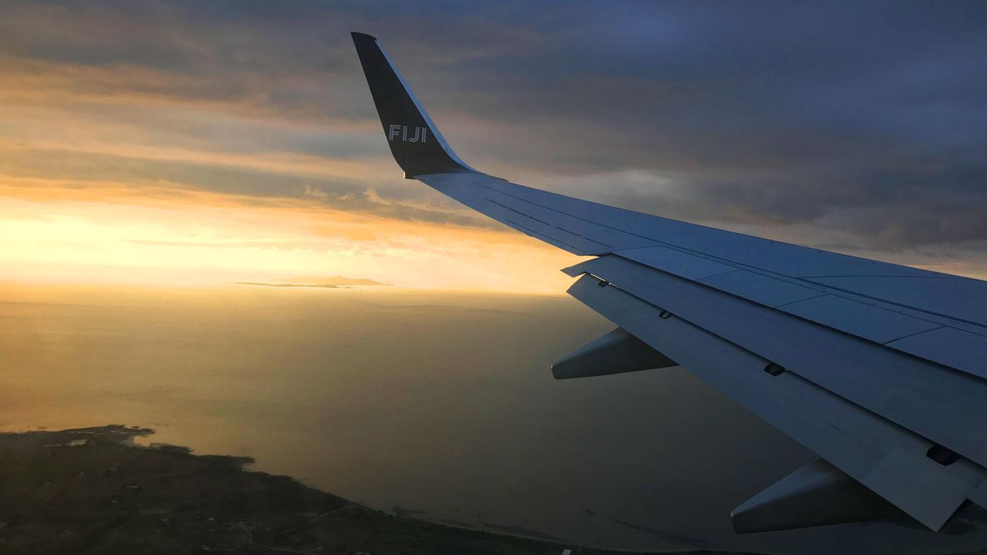 Von Neuseeland geht es nach Fidschi
