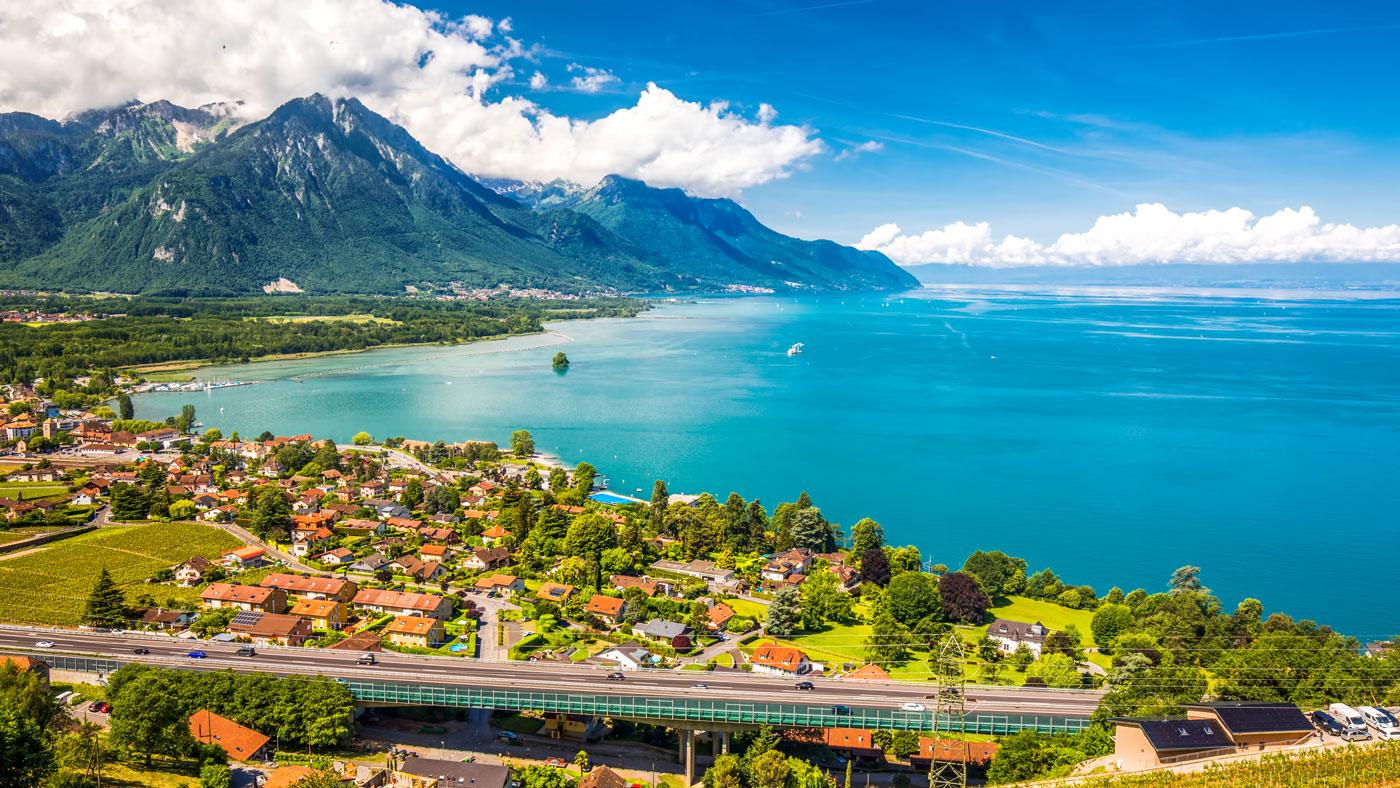Genfer See bei Genf