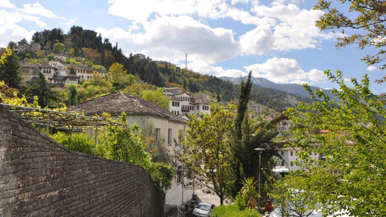 Gjirokasta in Albanien