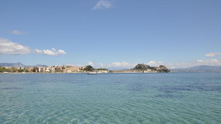 Korfu Meer