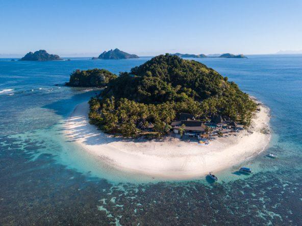 Das 4-Sterne Matamanoa Island Resort liegt inmitten von Natur