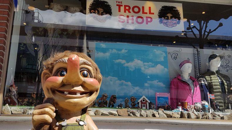 Troll Shop in Norwegen