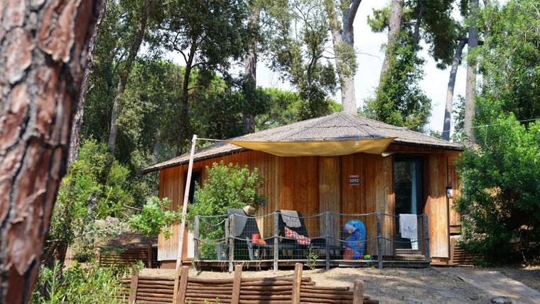 Chalet im Paradu Tuscany Eco Resort Glamping Italien