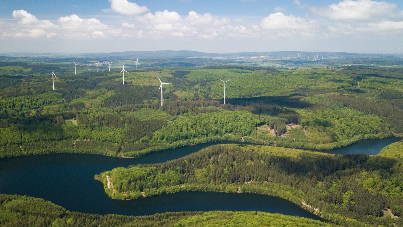 Schön grün ist es im Saarland