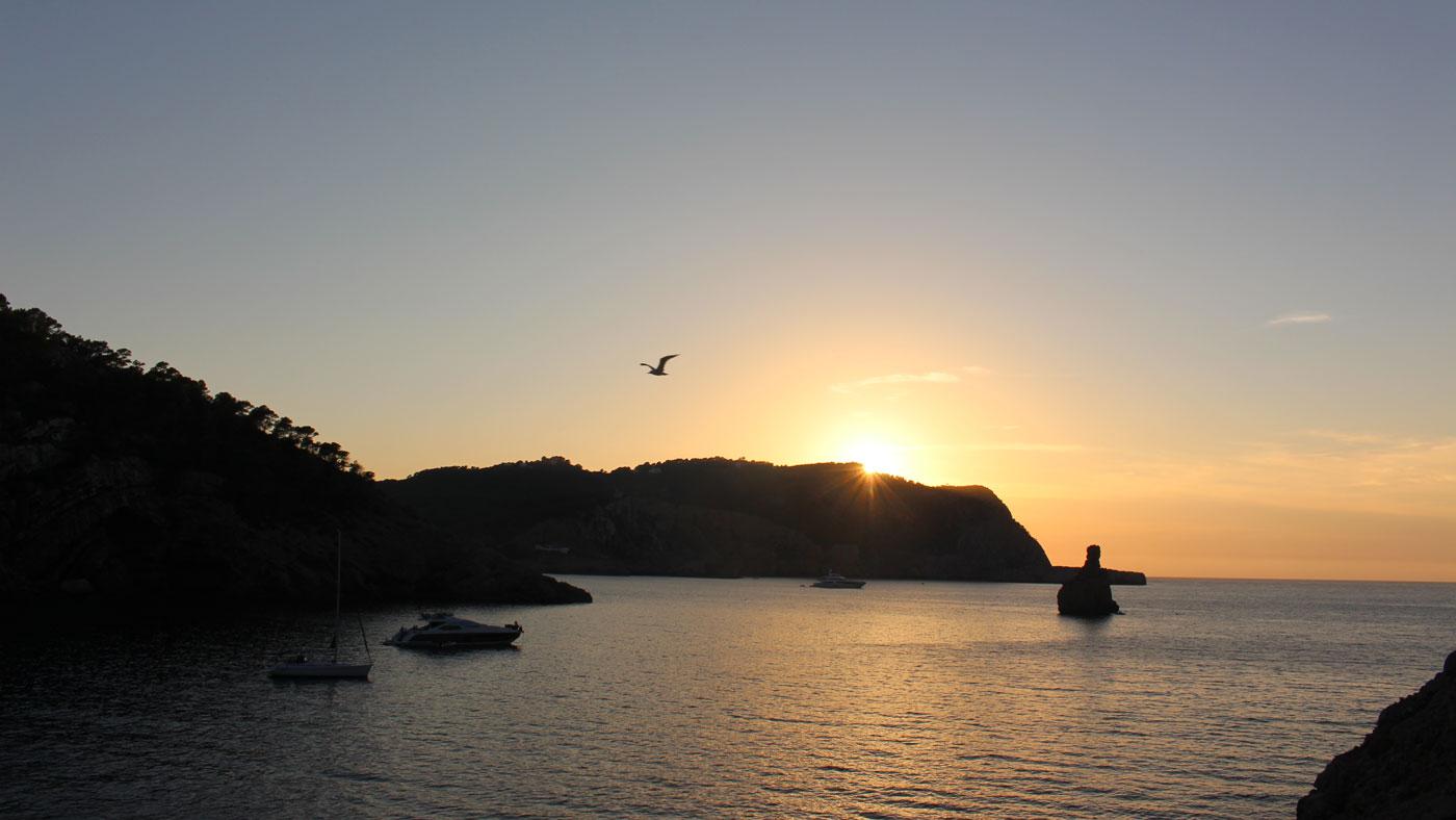 Sonnenuntergang Benirras Beach