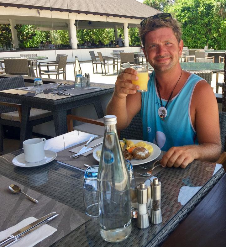 Frühstück mit Jannes