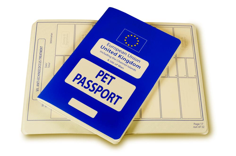 Die EU-Bestimmungen besagen, dass jedes Tier mit einem Mikrochip gekennzeichnet und im Besitz des blauen EU-Tierpasses sein muss