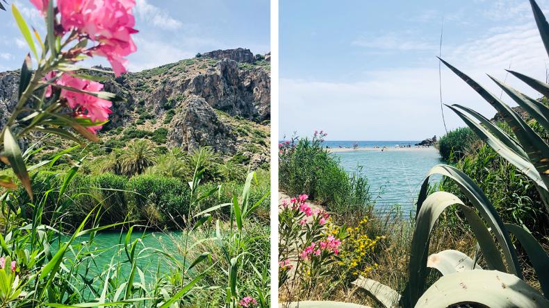 Preveli ist sicherlich der bekannteste Strand im Süden Kretas.