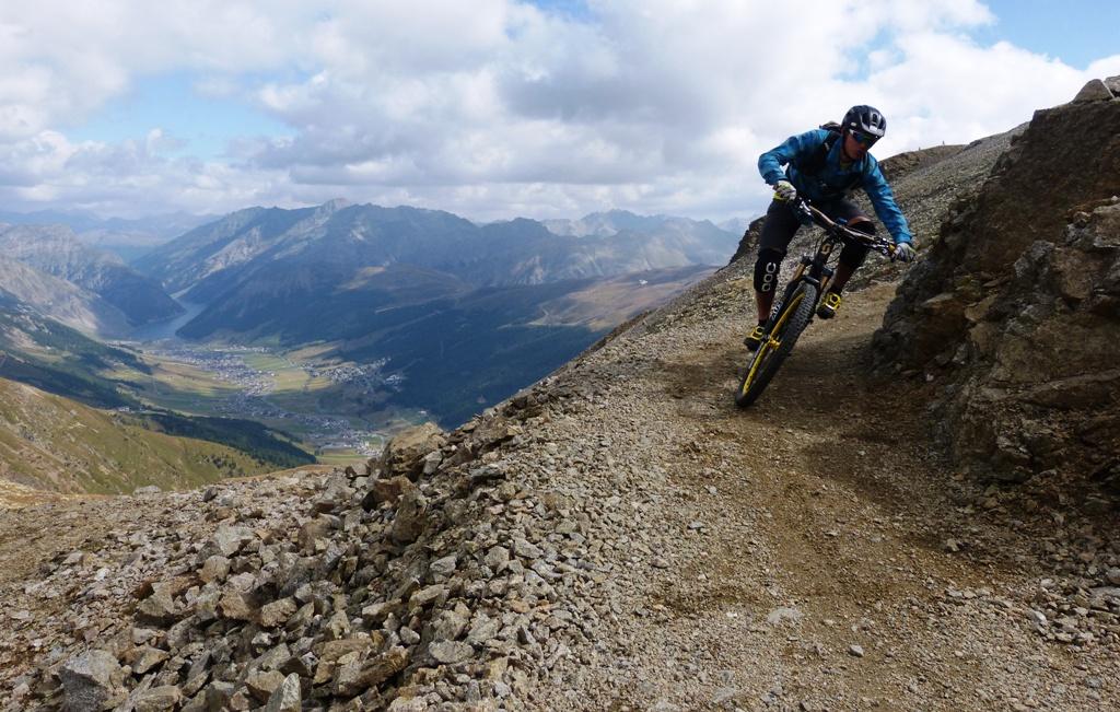 Mountain Biking und nebenbei die wunderschönen Landschaften genießen