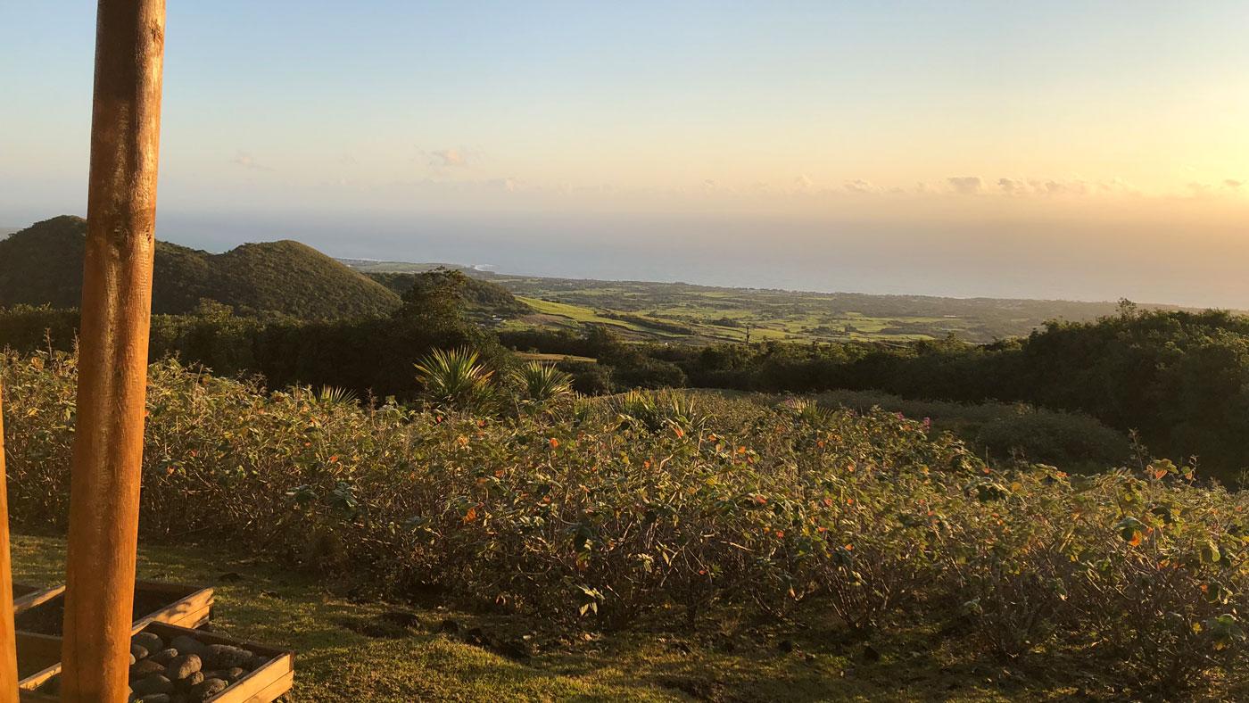 Ausblick von der Diana dea Lodge