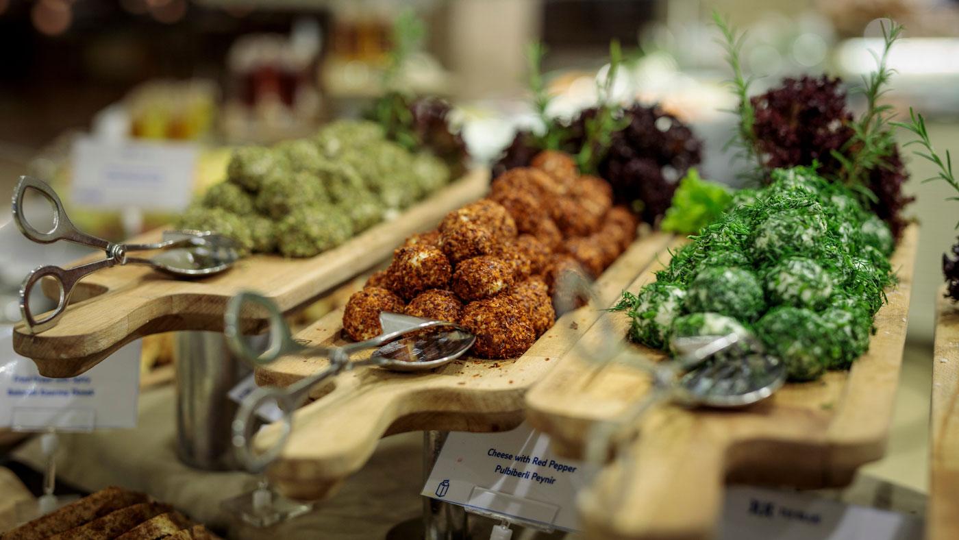 Muğla ist berühmt für seine türkischen Delikatessen