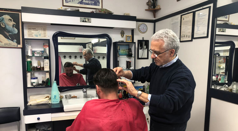 Friseur in Pizzo