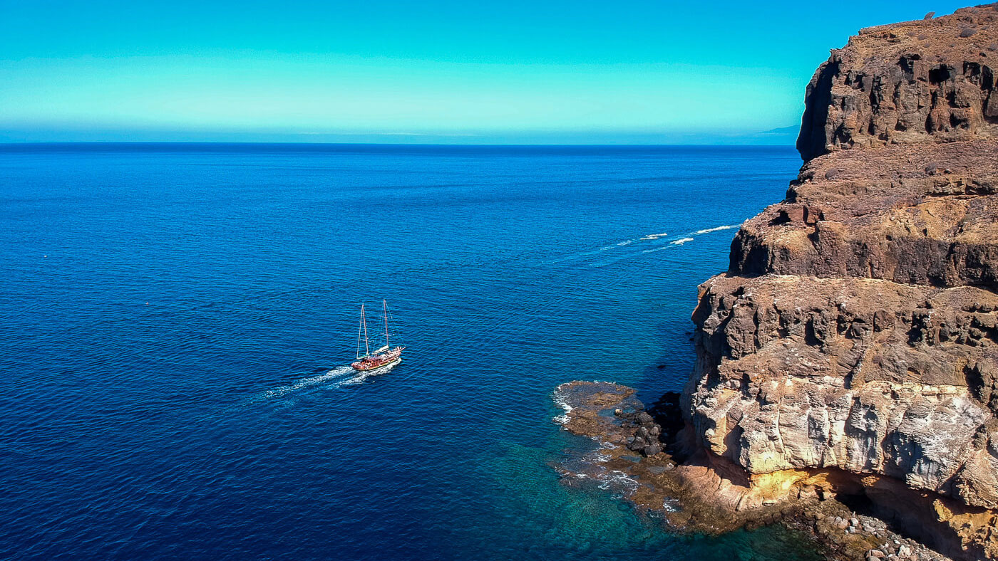 Katamaran auf Gran Canaria