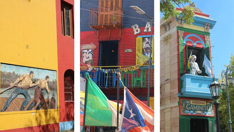 La Boca ist das bekannteste Barrio von Buenos Aires.