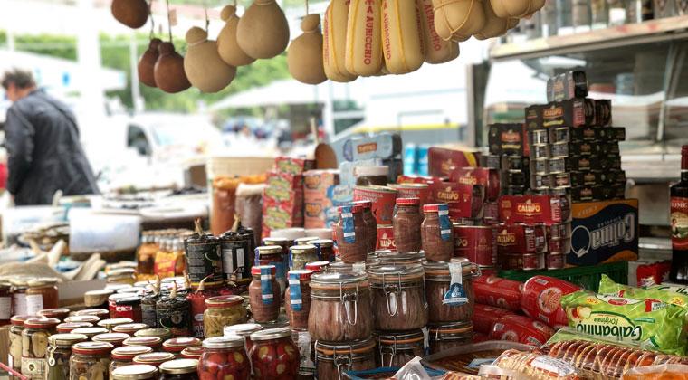 Foodmarkt in Tropea