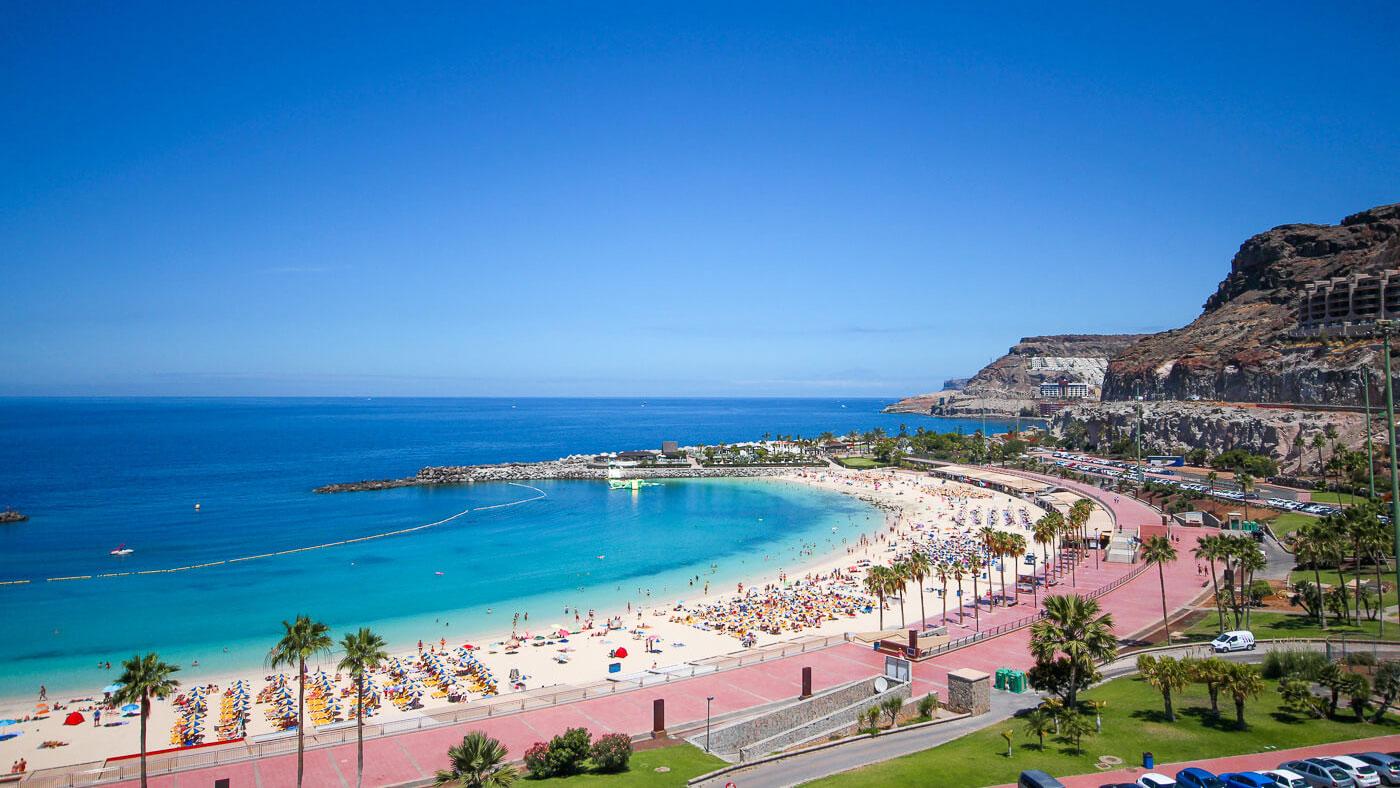 Playa des Amadores auf Gran Canaria
