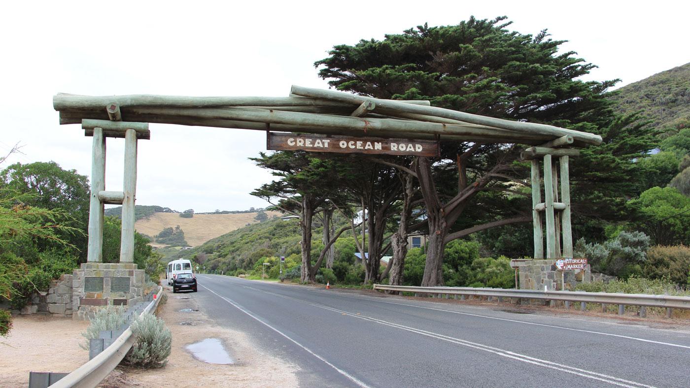 Torbogen der Great Ocean Road