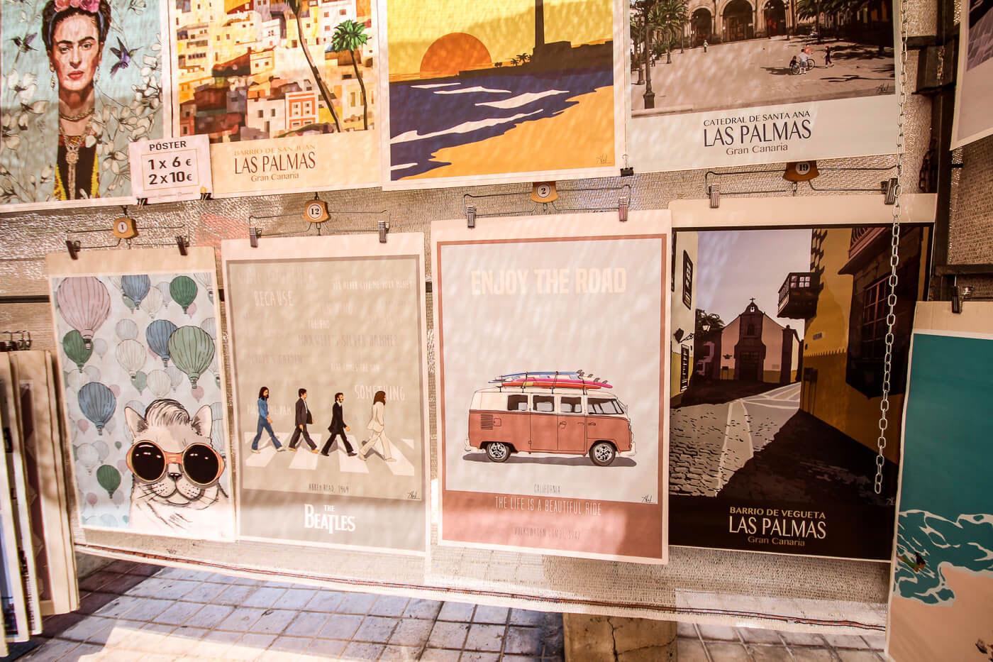 Zu kaufen auf dem Wochenmarkt in Arguineguin
