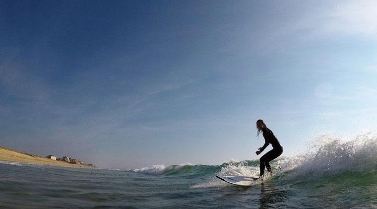 Surfen in Biarritz