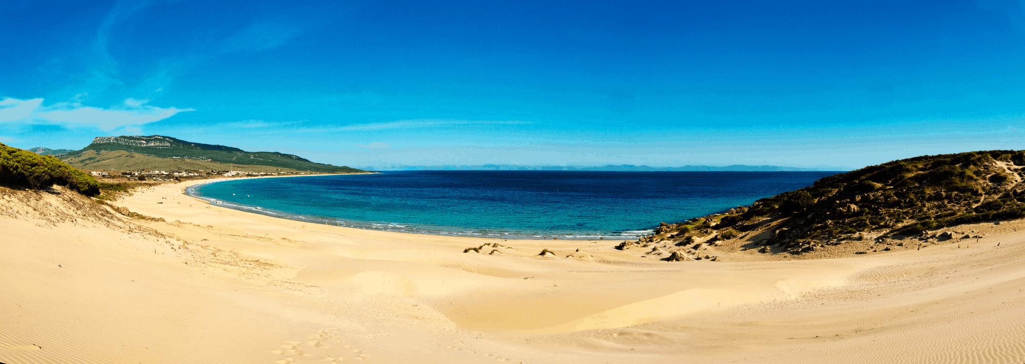 Die schönsten Strände der spanischen Atlantikküste befinden sich an der südlichen Atlantikküste, der Costa de la Luz.