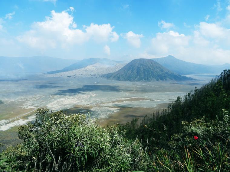 Blick auf den Mount Bromo