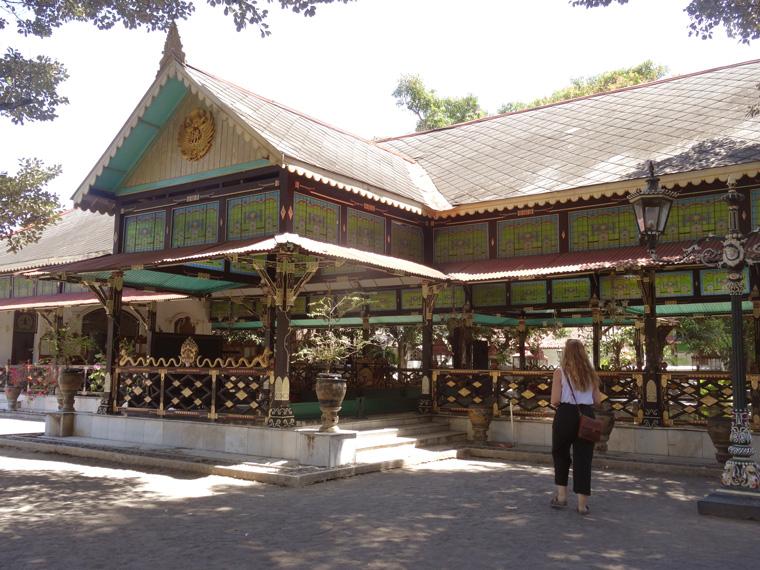 Eines der vielen Gebäude, die zum Palast gehören.