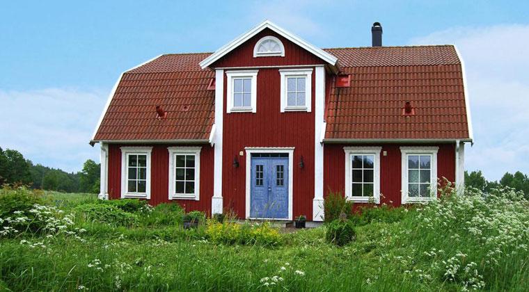 Großes Ferienhaus für die ganze Familie in Schweden