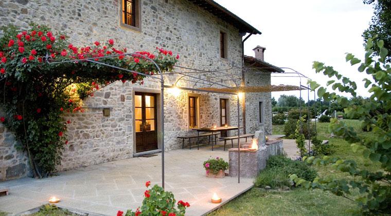 Schönes, großes Ferienhaus in der Toskana
